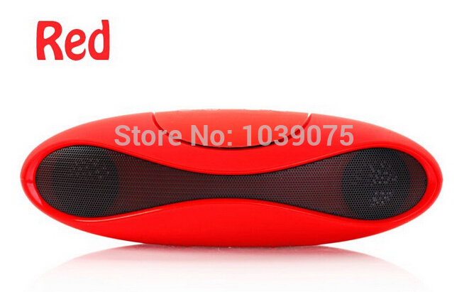 Creative rugby Red Wireless bluetooth speakers stereo heavy bass card Portable outdoor mini audio for Samsung Netbook PC(China (Mainland))
