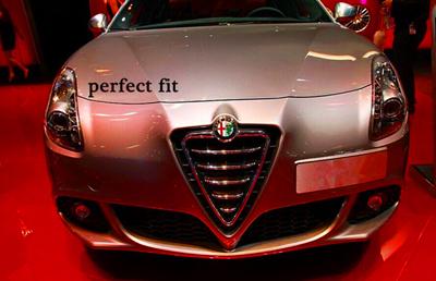 5 74mm ALFA ROMEO Mito 147 156 159 166 Giulietta Spider Car emblem Badge sticker car styling - Angel shop store