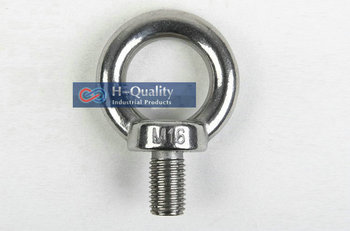 Free Shipping Wholesale Rigging Hardware Heavy Duty M20 DIN580 Metric Thread Stainless Steel 304 Lifting Eye Bolt