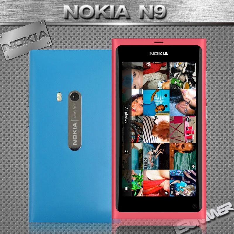 Original Unlocked Nokia N9 Nokia Lankku A-GPS WIFI 3G GSM 8 MP Camera 16GB Mobile Phone Refurbished Russian Multi Language(China (Mainland))