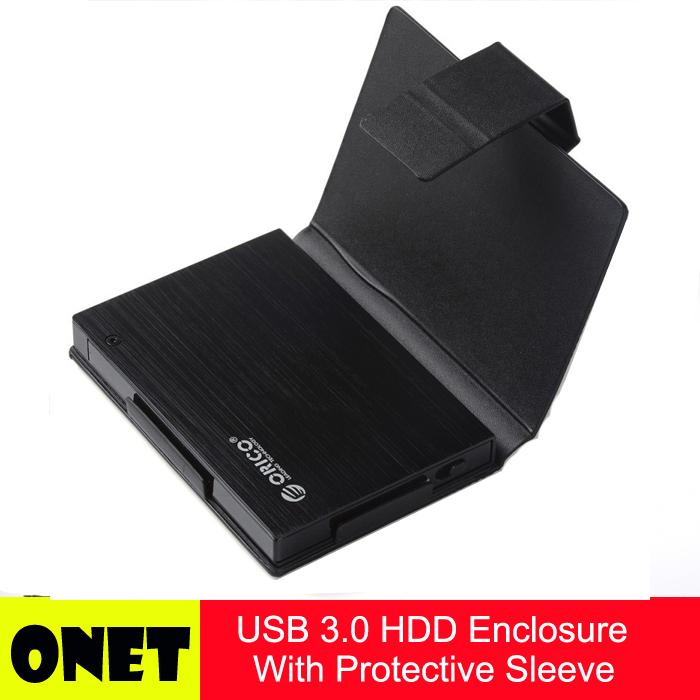 "ORICO 25AU3-BK USB 3.0 2.5"" SATA External Hard Drive Enclosure For HDD/SSD - Black(China (Mainland))"