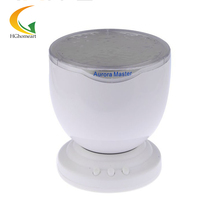 Ocean Wave Lamp With Speaker Night Light Romantic mini projector led color change Colorful night led light MP3 Speakers