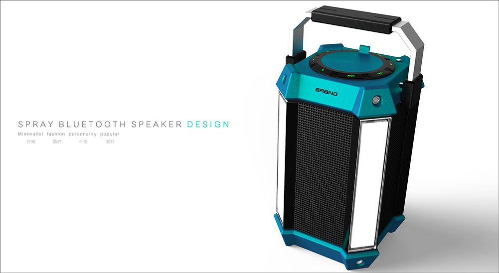 Фотография Lighthouse LED Light Stereo Wireless Bluetooth Speaker w/ FM for Party 2Color