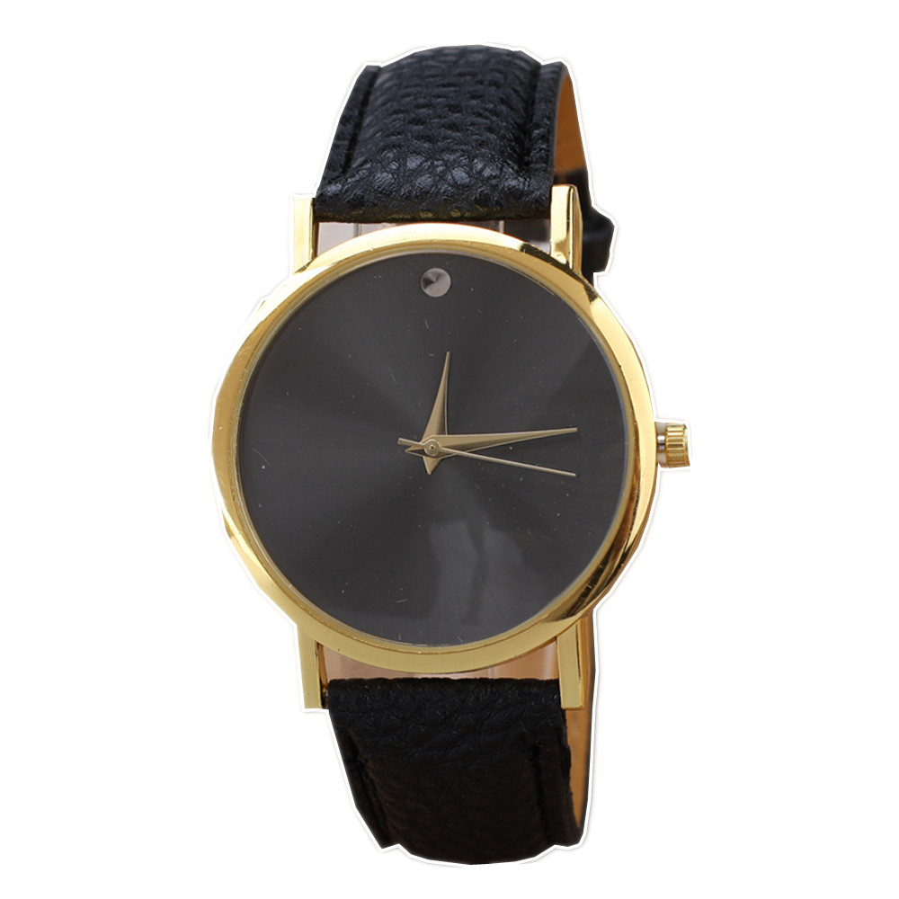 2016 New Fashion Leather Strap Glass Surface Women Quartz Watch Hot Sell Womens Casual Dress Watches Ladies Wristwatch Gift<br><br>Aliexpress