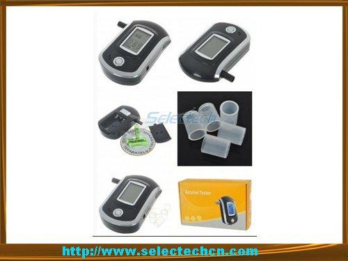 Digital breath alcohol tester with lcd display SE-AT6000(China (Mainland))