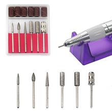 30000 RPM Nail Drill Pro Electric White Diamond Nail Drill File Machine Maniure and Pedicure Drill
