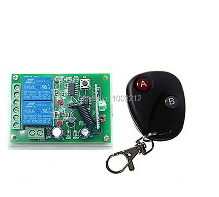 YU-02A 12 DC Wireless Remote Control Switch Security System<br><br>Aliexpress