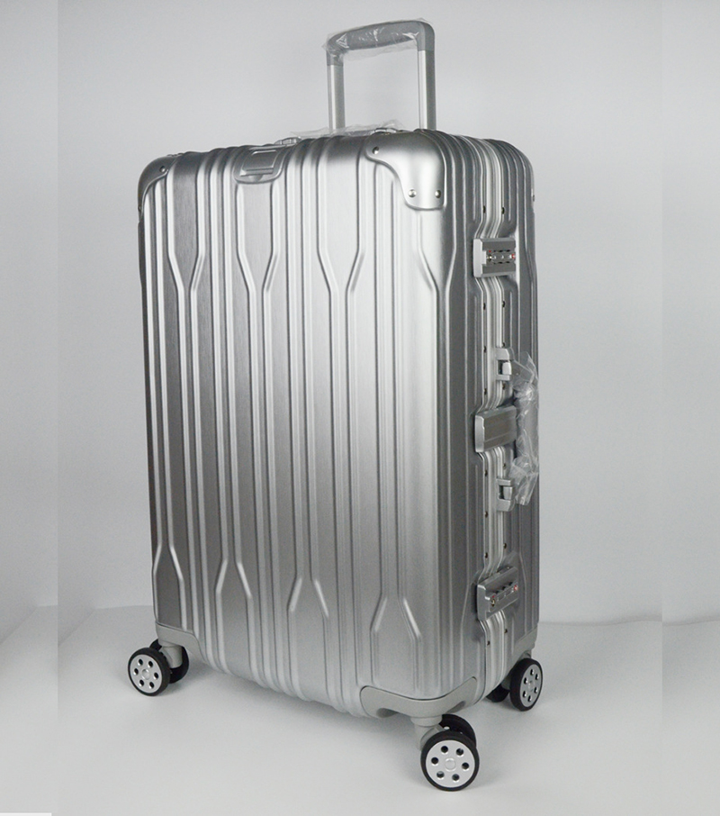New Fashion, ABS+PC+Aluminum frame Rolling Luggage, Spinner Wheels, 20 Inch Boarding Box, 24 28 Inch Travel Bag, Suitcase Card,