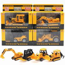 Buy New Arrival 1:64 Diecast Cars Alloy Truck Engineering Vehicles Toy Metal Model Car Dinky Toys Kids Random Sent Brinquedos for $5.26 in AliExpress store