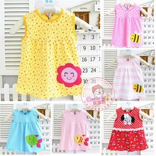 2015 NEW ARRIVAL FREE SHIPPING BABY summer style dress baby girl dress(China (Mainland))