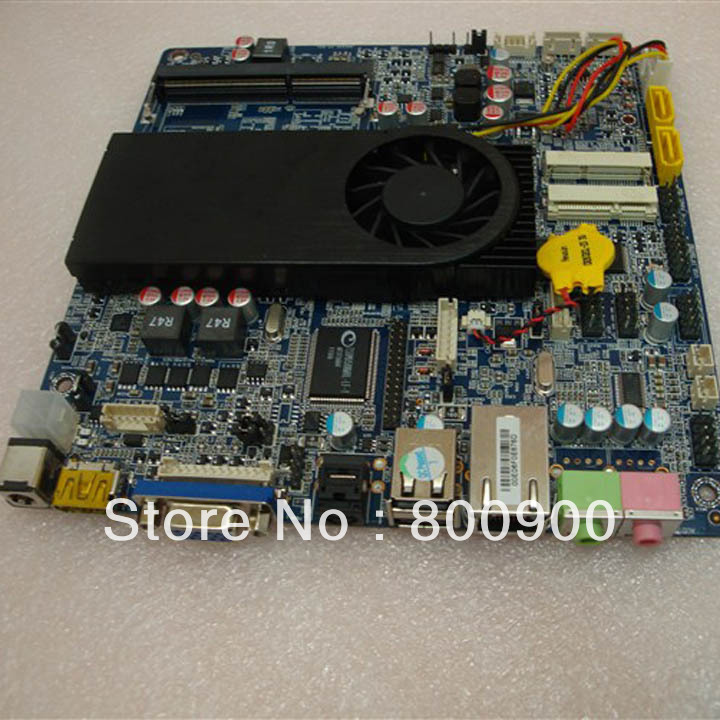 ITX motherboard integrated Intel HD Mini PC Thin MSATA motherboard with I3 2367M Processor