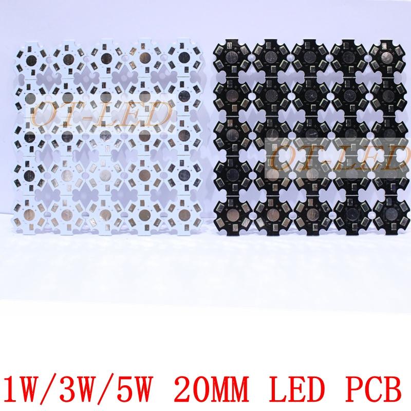 1W 3W 5W LED Lamp PCB Board, 20mm LED Aluminum Base plate for high power LED Beads(China (Mainland))