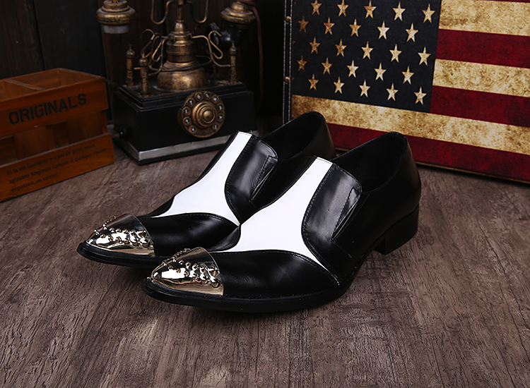 2015 new arrival cheap mens shoes casual black white