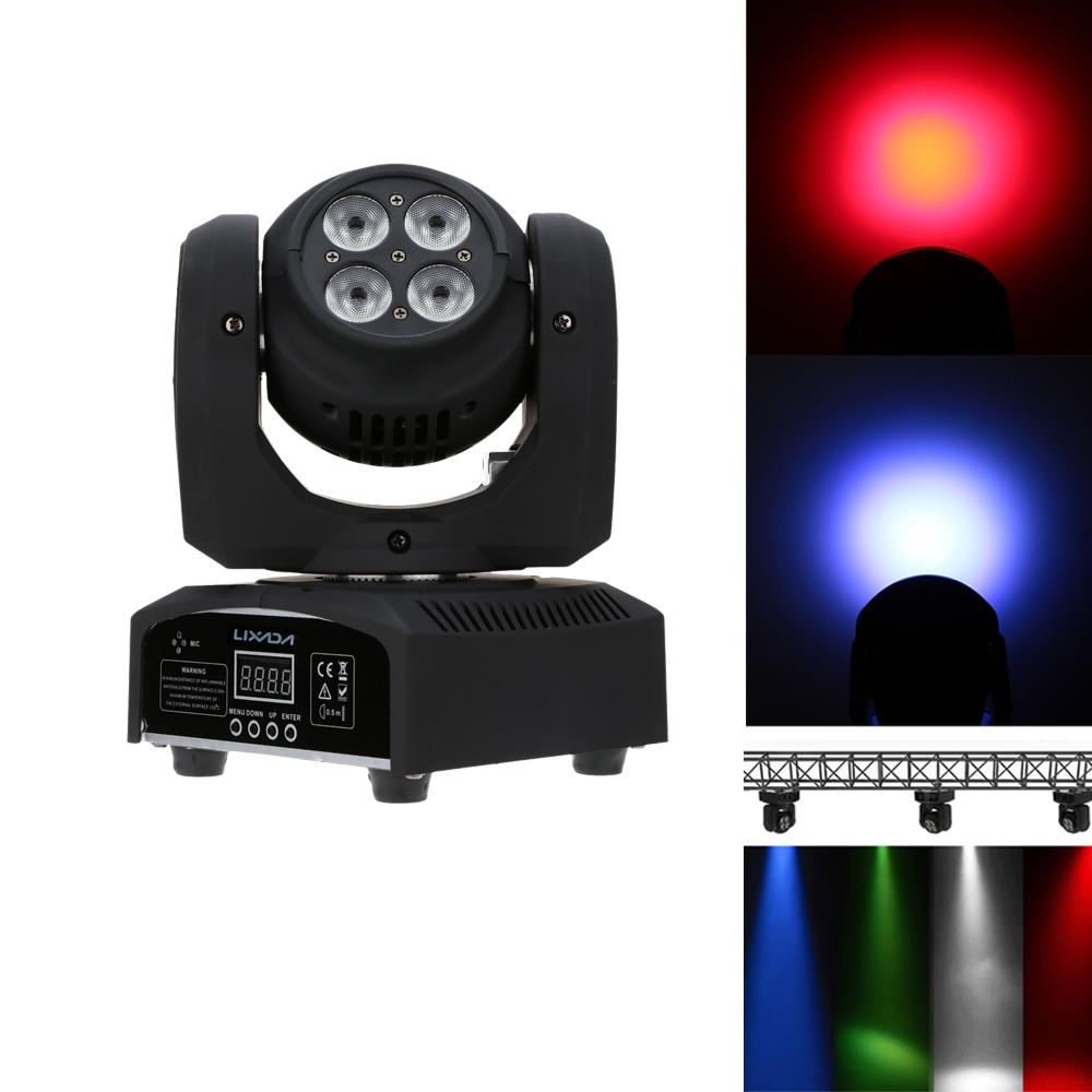80W 8LED DMX512 LED Stage Light 15/21 Channel Infinite Rotating Moving Head Stage Lighting RGBW Double Sides Disco Light indoor(China (Mainland))