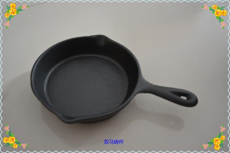 Cast iron cookware egg fry pan mini cast iron pan griddle Mini loaf pans roast pan frypan skillets(China (Mainland))
