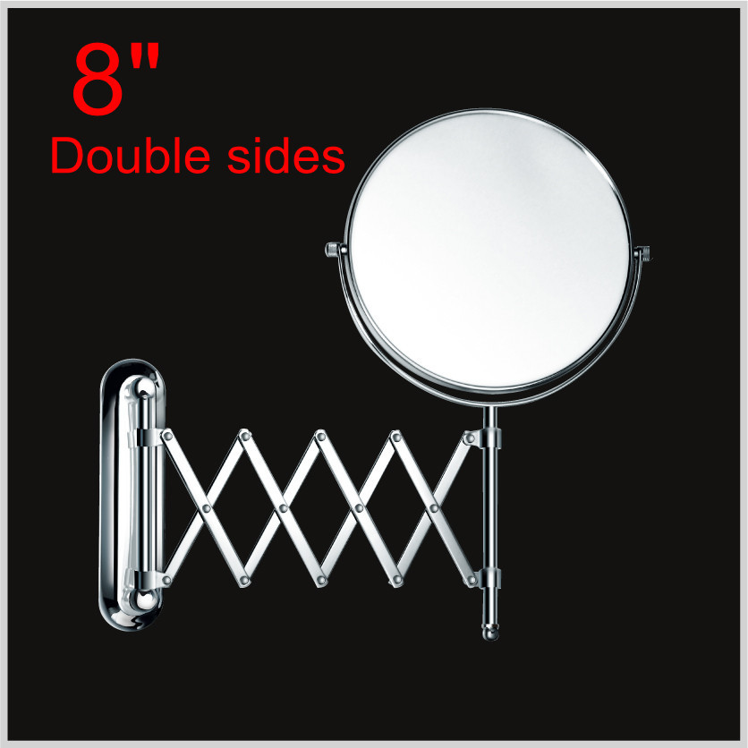 """Hot sale wholesale Fashionable Double Sides Magnifying Meshy Cosmetic Mirror/8"""" for Bathroom/Hotel(China (Mainland))"""