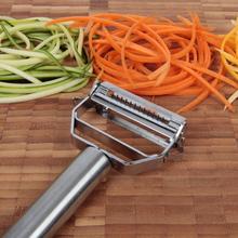 1pcs Stainless Steel Vegetable Fruit Peeler  Durable Razor Sharp Blade Zesters  Grade Shredder Slicer Julienne Peeler(China (Mainland))