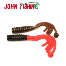 New 2pcs Big Grub Soft Bait Artificial Fishing Lure Sea Fishing Baits 15cm/43g Swimbait Fishing Tackle(China (Mainland))