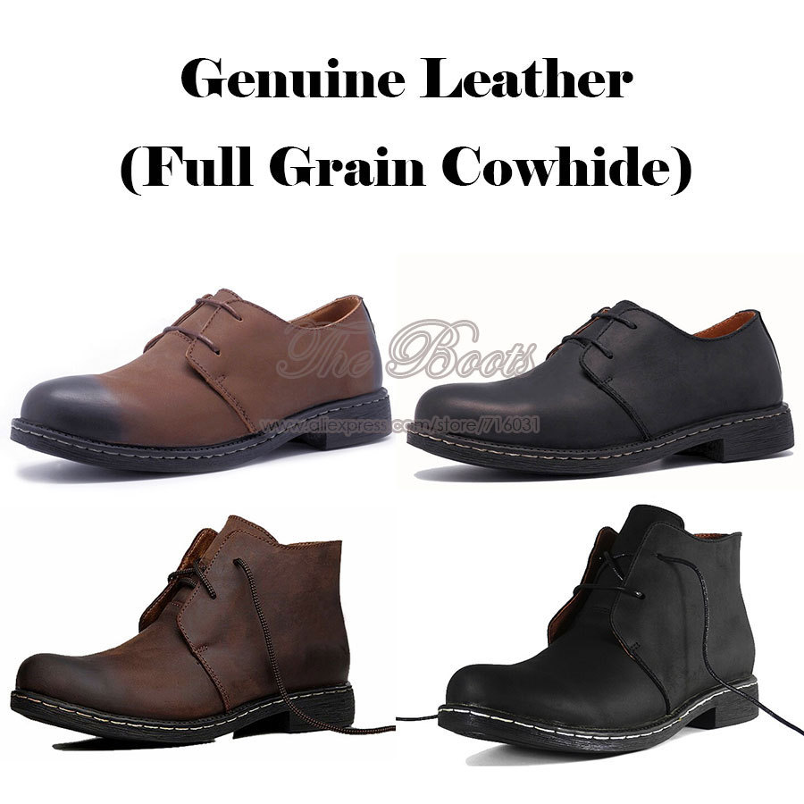 2014 Spring New Fashion Men Office Ankle Boots Stitching Shoeslace Genuine Leather Business Shoes David Beckham Celebrity Party(China (Mainland))