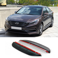 Buy FOR Hyundai Sonata LY 2015 now Carbon rearview mirror rain eyebrow Rainproof Flexible Blade Protector Car Styling for $7.10 in AliExpress store