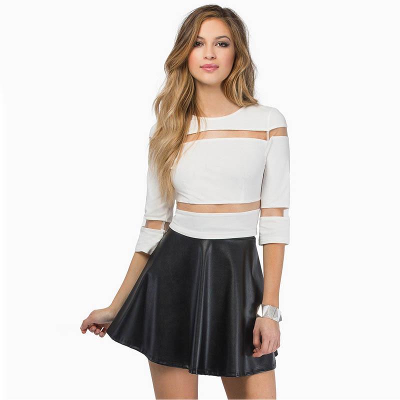 BLUSAS FEMININAS 2015 SUMMER FASHION MESH T SHIRT WOMEN CASUAL TOPS WOMAN CLOTHES PLUS SIZE XXL HD631 - YES-Fashion store