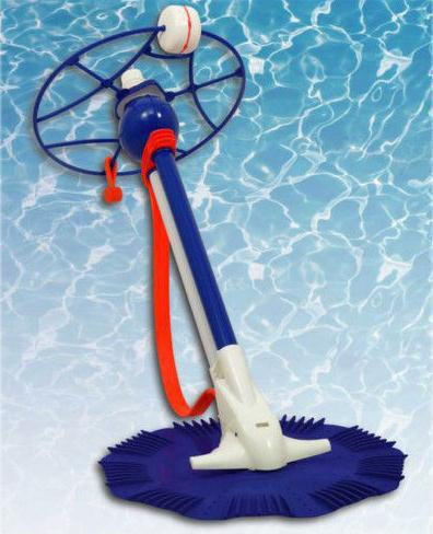 Fully automatic pool cleaner 10m vacuum hose climb walls swimming pool cleaning machine for above and inground pool(China (Mainland))