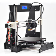 High Quality Precision Reprap Prusa i3 DIY 3d Printer kit with 2 Roll Filament 16GB SD