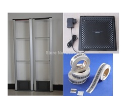RF Detector Store Security System Checkpoint + Soft Label +Deactivator(China (Mainland))