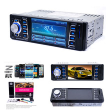 4.1Inch Car Radio Stereo Player Bluetooth Phone USB/TF MP3 FM/USB/1 Din/remote Control 12V Car Audio Auto 2016 Sale New(China (Mainland))