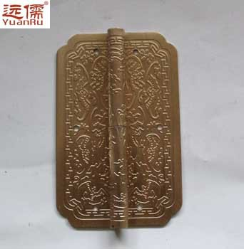 Far Confucian Chinese bronze copper fittings Ming and Qing antique copper hinge door hinge Fuk Full Queen(China (Mainland))