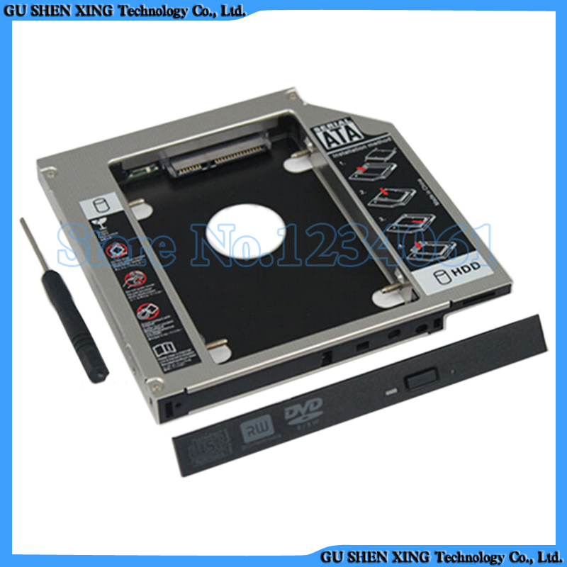 2nd hard drive HDD Caddy For HP EliteBook 8460w 8560w 8760w laptop(China (Mainland))