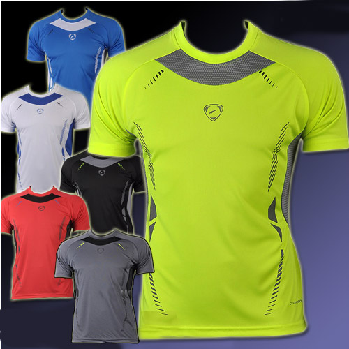 Hot sale 2015 New summer Mens Designer Quick Drying Casual T-Shirts Tee Shirt Fitness New Sportswear Shirt plus size M-XXL(China (Mainland))