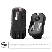 Pixel Pawn TF-363 Wireless Remote Control Shutter Release Flash Trigger for Sony Alpha Minolta Camera and Flash