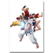 Buy Street Fighter V Art Silk Poster print 13x20 24x36inch Game Chun Li RYU Pictures Room Decor 026 for $4.91 in AliExpress store