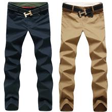 2016 neue Mode Männer Hosen Baumwolle gewaschen Casual Hosen Männer gerade Hosen 9 Farben plus Größe 28 ~ 44 Herrenbekleidung(China (Mainland))