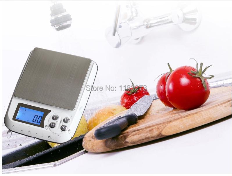 3 kg Ménage Électronique Balances de Cuisine 3000g 0.1g LCD Table Bijoux Pondération Échelle de L'équilibre Alimentaire Poids Avec Boîte FreeShipping(China (Mainland))