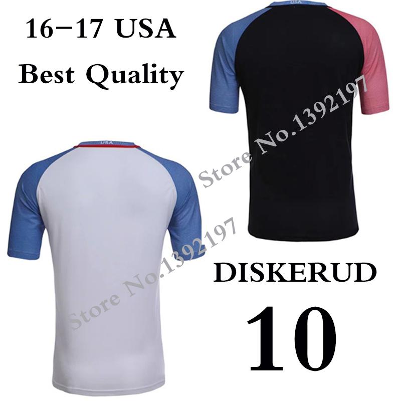 2016 2017 Soccer Jerseys BRADLEY DEMPSEY ALTIDORE 16 17 Football Jerseys Football Shirt Maillot De Foot Free Shipping ePacket(China (Mainland))