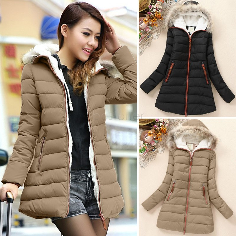 Brown Winter Coat Ladies