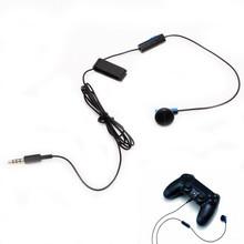 Оригинал Соло Проводная Гарнитура Наушники Официальный Моно Гарнитура Микрофон Головной Установить Микрофон головной телефон для Playstation 4 PS4(China (Mainland))