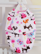 Soft Flannel Newborn Swaddle Baby Blanket & Swaddling Warm Winter Autumn Sleeping Bag