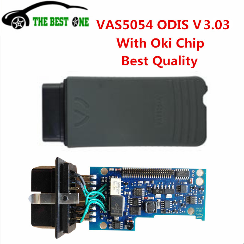 Latest VAS 5054 VAS 5054A ODIS V3.03 Cracked version Bluetooth with OKI Chip Support UDS Protocol Full Chips VAS5054 Hot Sale(China (Mainland))