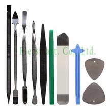 10 in 1 Opening Repair Tools Set Metal Spudger Nylon Opener iSesam for iPhone Tablet cellphone
