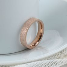 Top Quality 18K Rose Gold Plated Ring Vintage Wedding Rings Full Sizes Polish Rings for Women