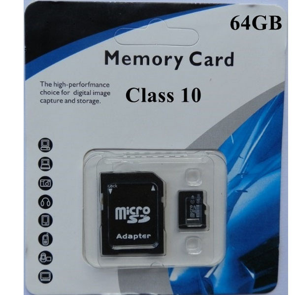 Free shipping HongKong Post Wholesales 5PCS Memory card -8GB 16GB 32GB 64GB 128GB class10 micro sd card + package adapter<br><br>Aliexpress