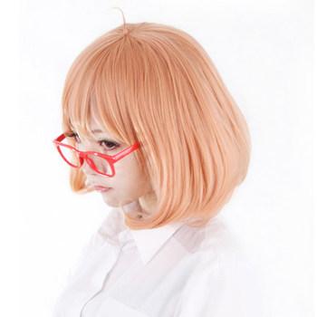 [Kyoukai no Kanata/Beyond the Boundary] Mirai Kuriyama Short Cosplay Wig