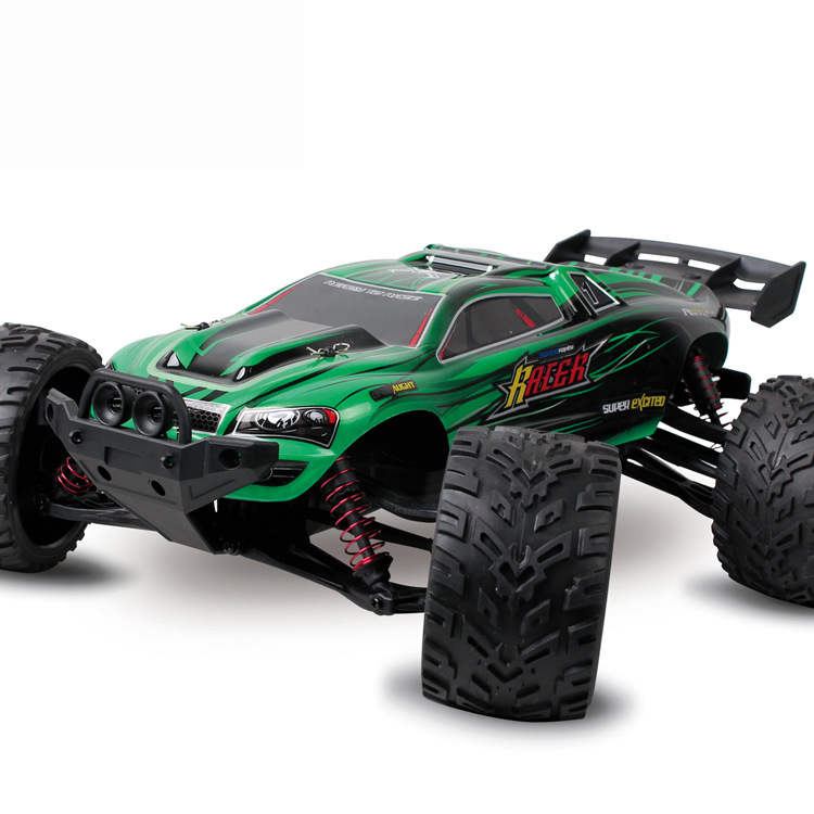 Big RC Car 1/12 Scale 9116 2WD Brushed High Speed RC Monster Truck RTR 2.4GHz Best Childrens Toy(China (Mainland))