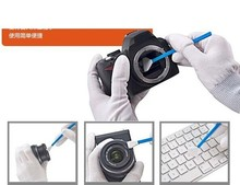 Dry CCD Swab Sensor Cleaner CMOS CCD SWAB for Filters Lens LCD PAD and DSLR Cleaning Stick 6pcs/box(China (Mainland))