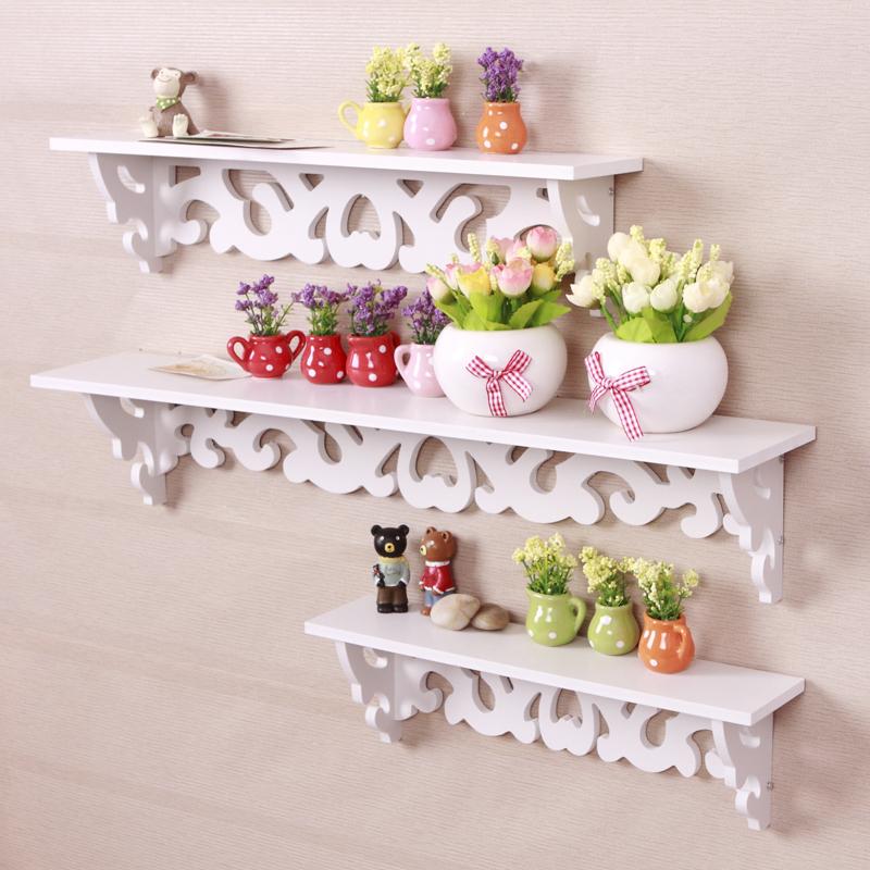 Rococo furniture white wall shelfBookcase Book shelf / Hanger /wall hanger/ wall decor/ book Rack/ wooden Storage/wood shelf(China (Mainland))