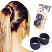 1 PC Magic Professional hair styling tools women braided hair tools ponytail hair rope salon tools Hair Accessories for women