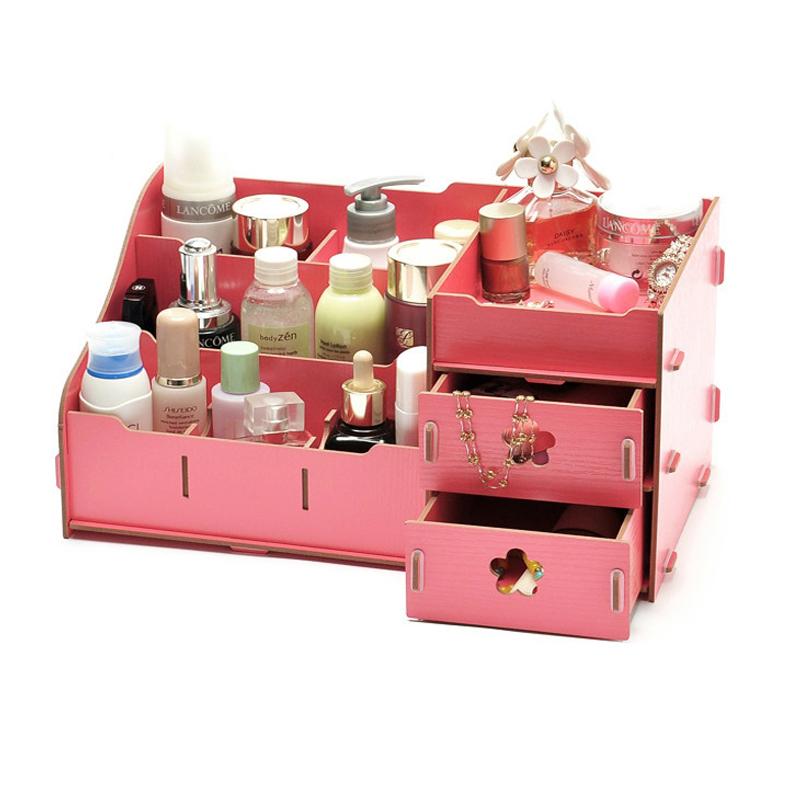 Storage Boxes Cosmetic storage drawer storage cabinet free shippng(China (Mainland))